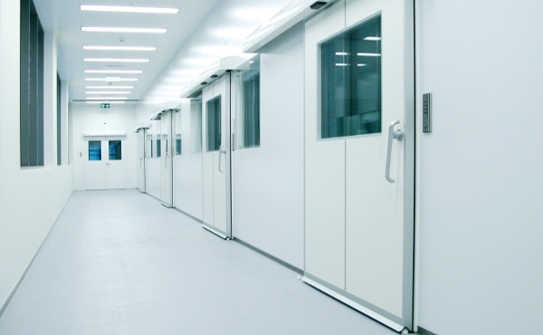 Automated doors for hospitals